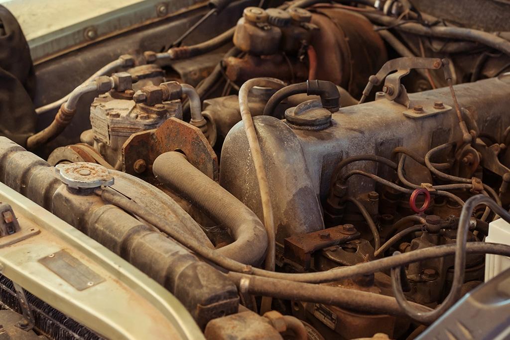 filtro sedimentador - defeitos no motor