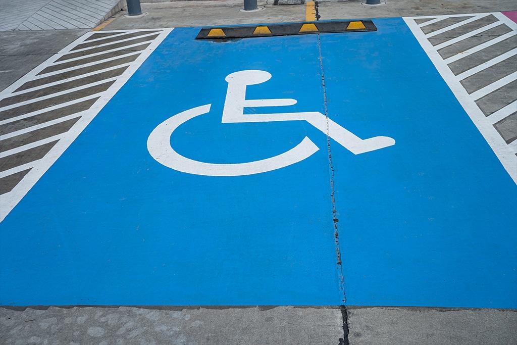 Vaga para deficiente físico