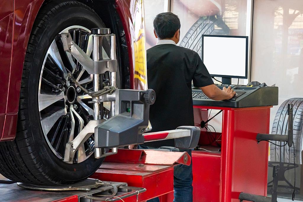 Geometria do carro: alinhamento de suspensão