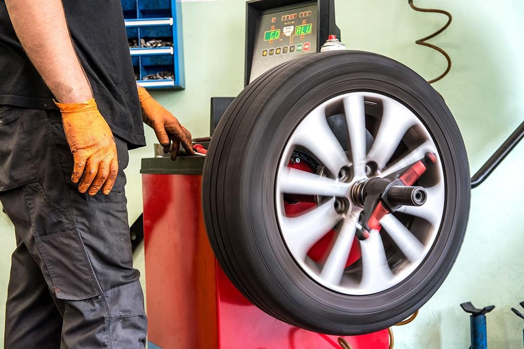 balanceamento dos pneus