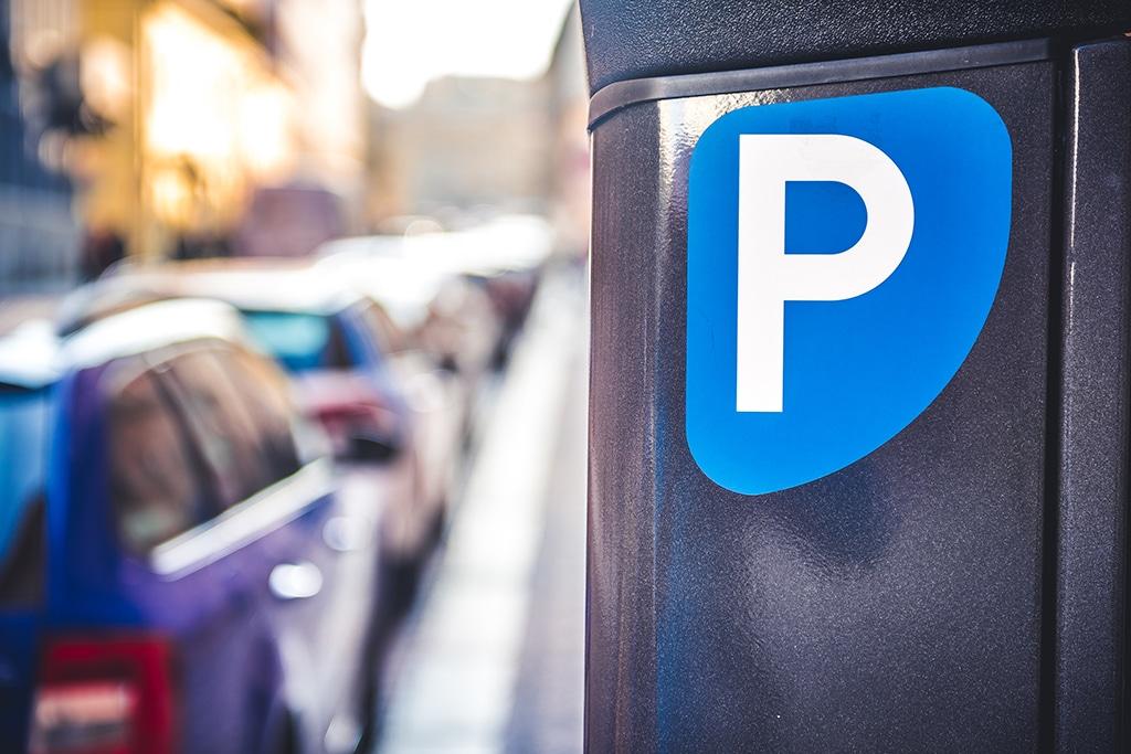 Ponto de estacionamento rotativo