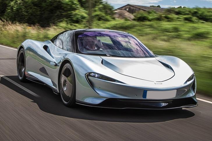 McLaren Speedtail 2021