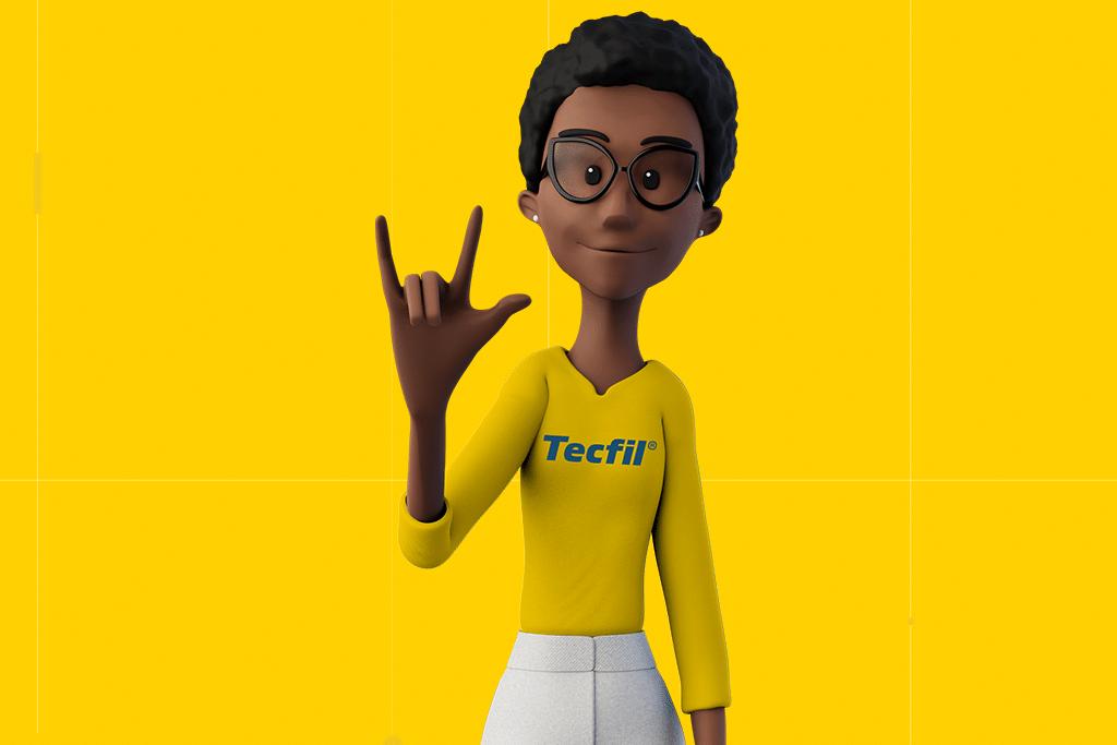 Tecfil é a 1ª empresa no mercado de filtros automotivos a ter um site acessível para pessoas surdas