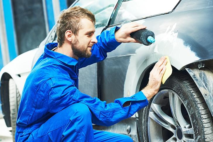 A pintura automotiva requer uma série de cuidados.